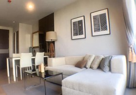 Rhythm Sathorn 21 | Bangkok condo for rent | 5-7 mins walk to Surasak-Saphan Taksin BTS | bathtub + washer in unit
