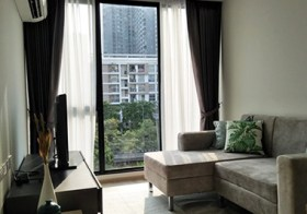 Serio Sukhumvit 50 – Bangkok condo for rent | 400 m. to Onnut BTS | kitchen with stove + washer | gym, pool, garden