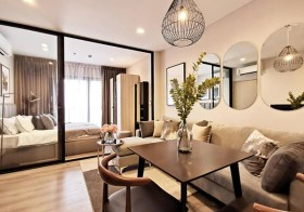 The Politan Rive – riverside condo for rent in Nonthaburi | 350 m. to MRT Phra Nang Klao bridge | 20 mins to Bangkok