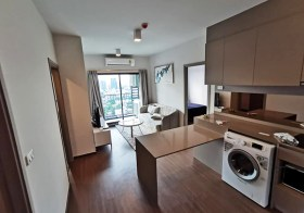 Ideo Sukhumvit 93 condo | 120 m. to Bangchak BTS | fitted kitchen + bathtub + washer | gym, pool, garden, co-working space