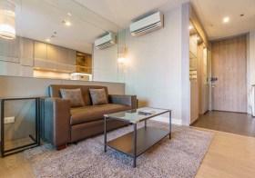 A space I.D. Asoke-Ratchada – Bangkok condo | 10 mins walk to Rama 9 MRT | south facing | fitted kitchen + washer