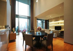 The Sukhothai Residences – condo for rent in Sathorn, Bangkok | 1 km. to Lumphini MRT | 900 m. to Embassy of Germany