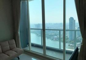 Menam Residences – Bangkok riverside condo | shuttle boat service to Saphan Taksin BTS/Sathorn pier | full river view
