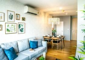 Noble Revo Silom condo | 250 m. to Surasak BTS | north-east facing, corner unit, unobstruted view | gym, pool, garden, library