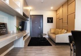 The Room Rama 4 condo  | 500 m. – 1 km. to SamYan-Hualamphong MRT | north facing | 10 mins walk to Chulalongkorn university