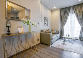 Urbano Rajavithi – Bangkok condo for rent  | 400 m. to Sirindhorn MRT | north facing + open view | double bed + bunk bed