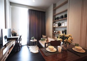 Edge Sukhumvit 23 condo | 200-300 m. to Sukhumvit MRT/Asoke BTS | open view, fully furnished with washer, king size bed