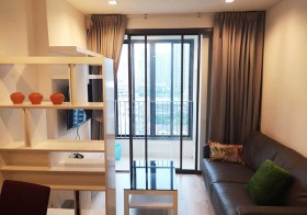 Ideo Mobi Rama 9 condo | 150 m. to Rama 9 MRT | corner unit, south facing, unobstructed view | gym, pool, co-working space, garden