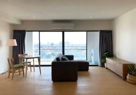 The Natural Place Suite – Bangkok condo for rent | 500-900 m. to Lumpini – Klong Toei MRT |  corner unit + open view
