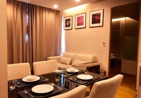 The Address Sathorn condo | 7 mins walk to Chong Nonsi BTS & Mahanakorn building | bathtub + washer | gym, pool, sauna, garden