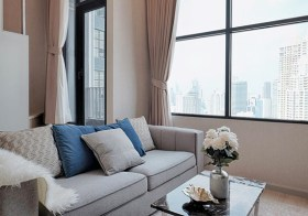 Knightsbridge Prime Sathorn condo | close to BRT | 800 m. to Chong Nonsi BTS & Sathorn Square | duplex type