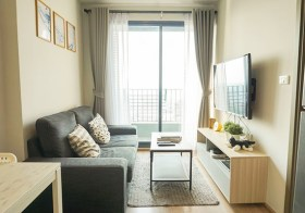 Ideo O2 condo  | 700 m. to Bangna BTS | river view, smart TV + washer | gym, pool, large garden | 20 mins to city center