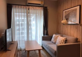 Condolette Dwell Sukhumvit 26 condo | 800 m. to Phrom Phong BTS | fully furnished | fitted kitchen + washer | gym, pool, garden
