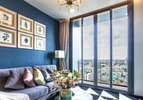 The Monument Sanampao – Bangkok condo for rent | 5 mins walk to Sanam Pao BTS | unobstructed view | bathtub + washer