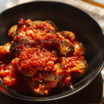 Classic Beef Meatballs cooked and ready to eat