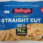 Straight Cut Oven Fries 1kg bag