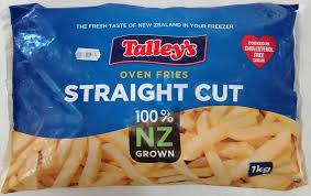 Straight Cut Oven Fries 1kg bag