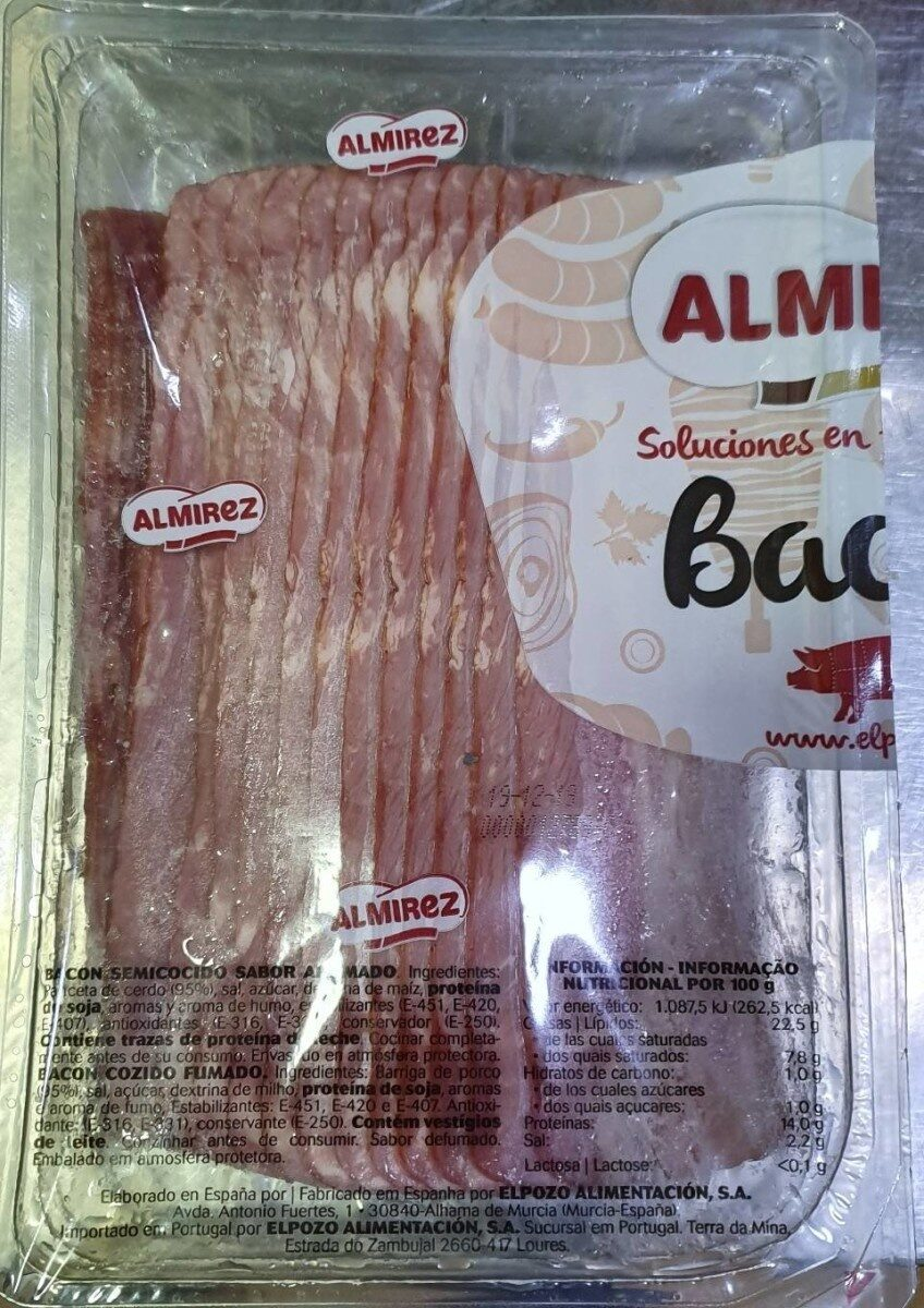Bacon stipes from Almires