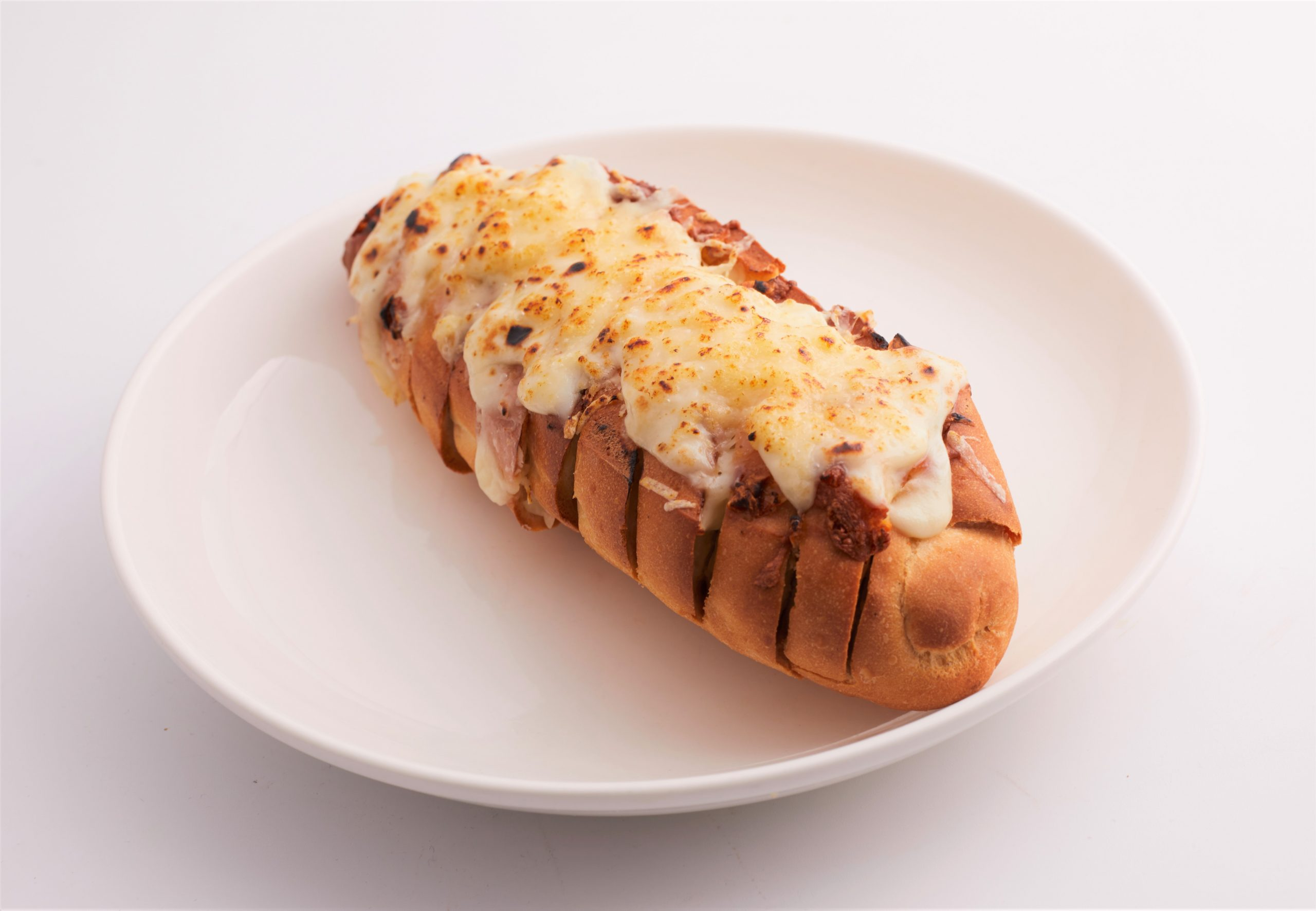 Half Baguette with 4 cheeses