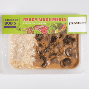 Beef Stroganoff Packaging Ready Meal