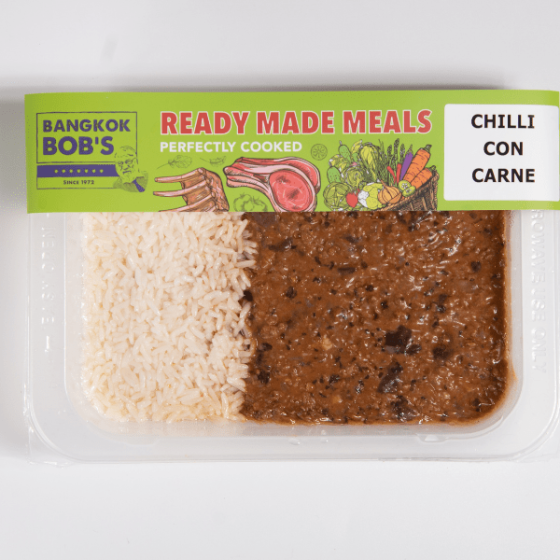 Chili Con Carne Packaging Ready Meal