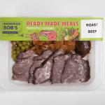 Roast Beef Packaging Ready Meal