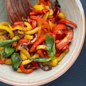 Grilled Mix Peppers
