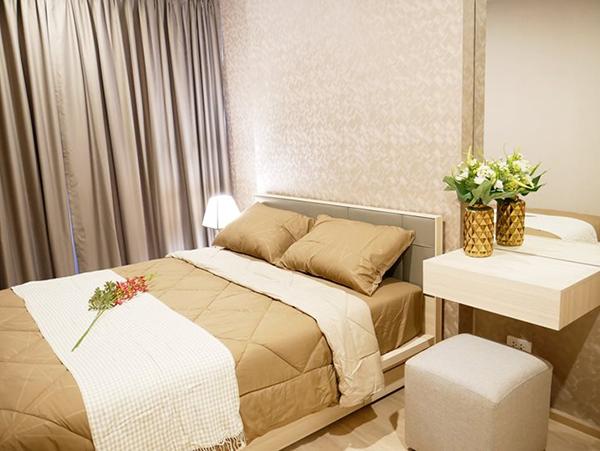 Ideo O2 (ไอดีโอ โอทู) คอนโดให้เช่า – Bangkok condo for rent | 700 m. to Bang Na BTS (บางนา) | open city view | fully furnished with washing machine