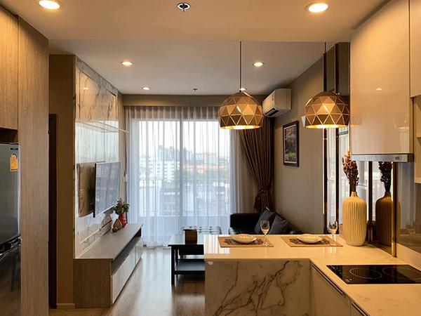 Ideo Mobi Sukhumvit 66 (ไอดีโอ โมบิ สุขุมวิท 66) คอนโดให้เช่า – Bangkok condo for rent | 1 mins walk to Udom Suk BTS (อุดมสุข) | open view + washer/dryer + bathtub| gym, pool, sauna, sky lounge