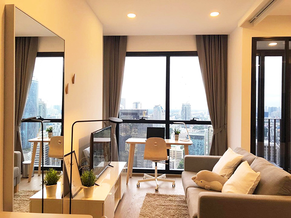 Ashton Chula-Silom (แอชตัน จุฬา-สีลม) คอนโดให้เช่า – Bangkok condo for rent | 3-10 mins walk to Sam Yan-Silom MRT (สามย่าน-สีลม) | east facing + open view | gym, pool, sauna, garden, sky lounge, co-working space