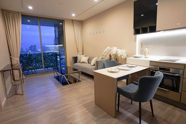 333 Riverside (333 ริเวอร์ไซด์) คอนโดให้เช่า condo | 3 mins walk to Bang Pho MRT (บางโพ) & boat pier | nice city view | short walk to restaurants, cafes, supermarket