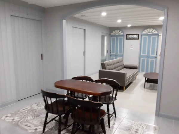 Deves Mansion (เทเวศร์ แมนชั่น) คอนโดให้เช่า – Bangkok condo for rent | 10 mins walk to United Nations ESCAP | corner unit, fully furnished, bathtub + shower