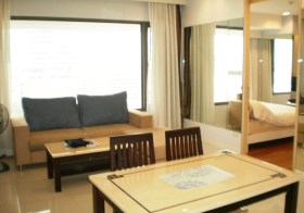 Amanta Lumpini – 1 bedroom condo for rent near Lumpini MRT, Bangkok
