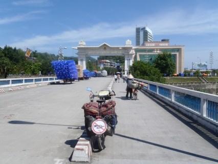 Frontière Vetnam