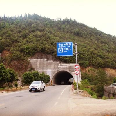 Tunnels qui m'évitent de grimper