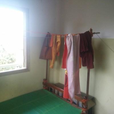 Chambre prêté par les moines