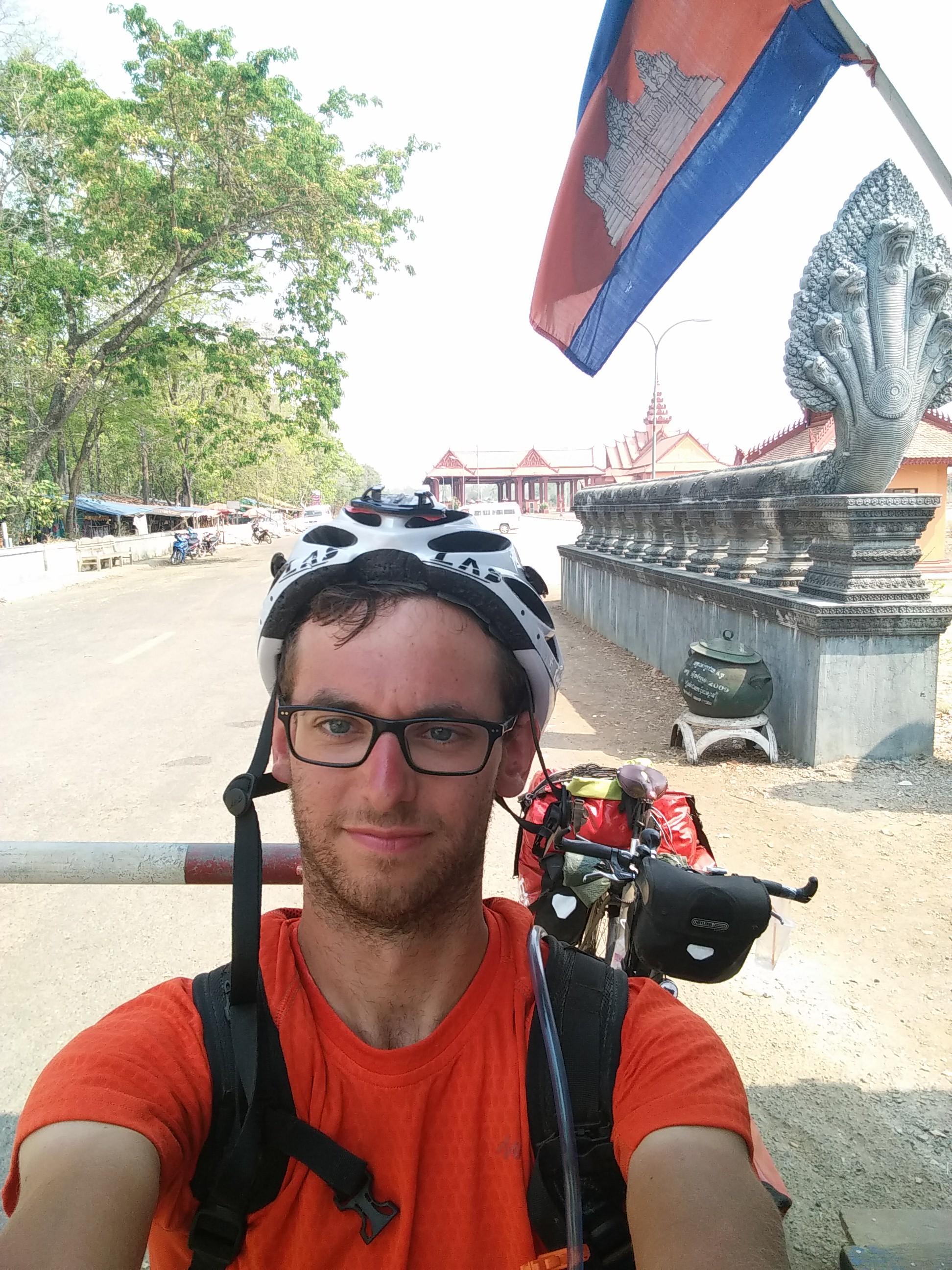 Traversée du Cambodge en vélo