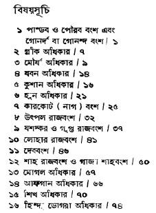 Agnigarbha Kashmir contents