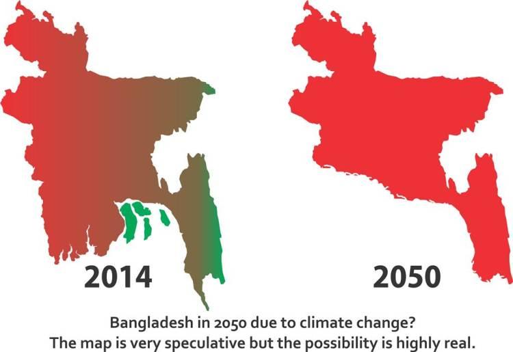 Climate Change, Bangladesh 2050
