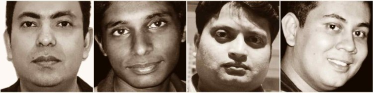 Picture of Bangladeshi Bloggers killed in 2015