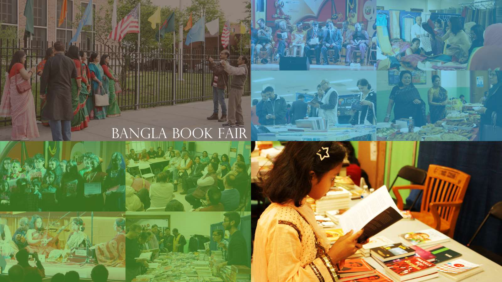 Book, Bangla and Bangladeshi community in New York