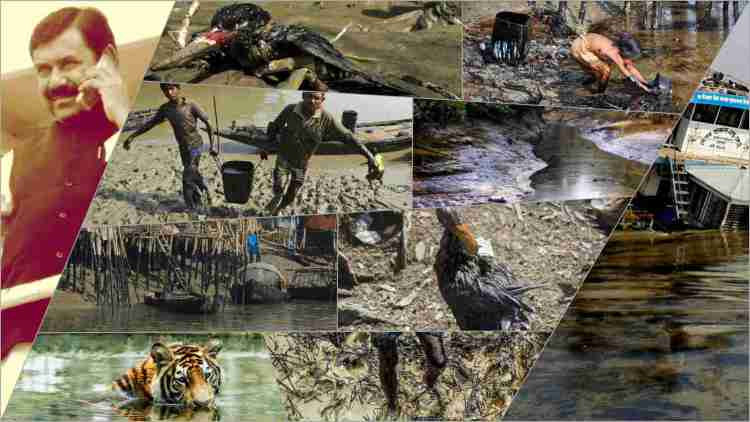 Bangladesh Sundarbans oil spill disaster 2014