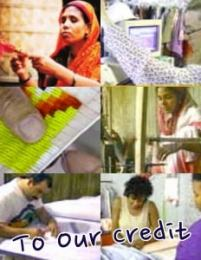 Cover of To Our Credit - a documentary on Bangladesh micro credit