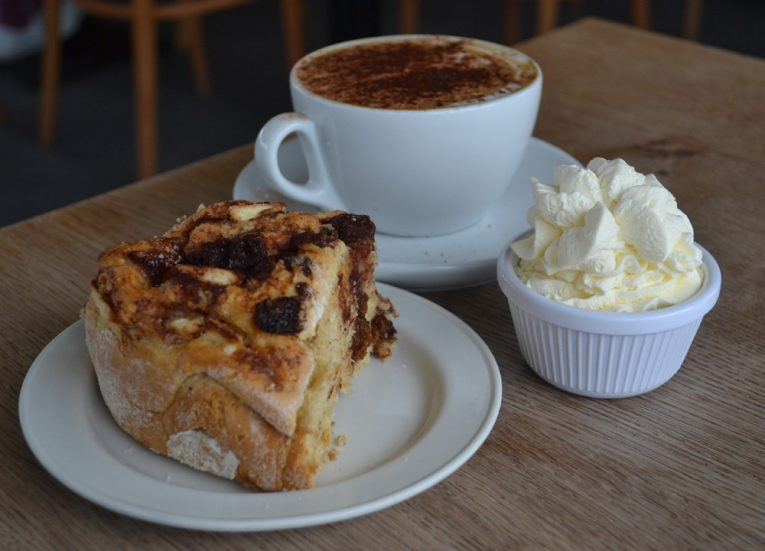 Cinnamon Scone, Best Cafes in Bangor Northern Ireland