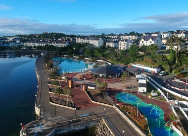 Pickie Park from Above, Best Hotels in Bangor Seafront, Northern Ireland