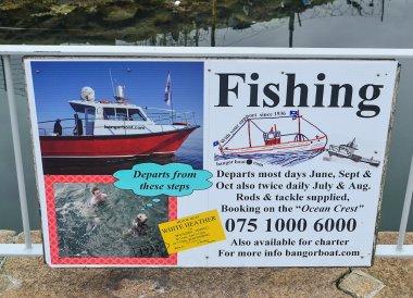 Bangor Boat Trips, Eisenhower Pier in Bangor Northern Ireland