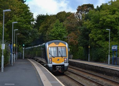 Carnalea Train Station, Crawfordsburn Country Park in Bangor Northern Ireland