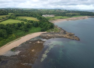 Crawfordsburn Country Park, North Down Coastal Path. Bangor to Carnalea