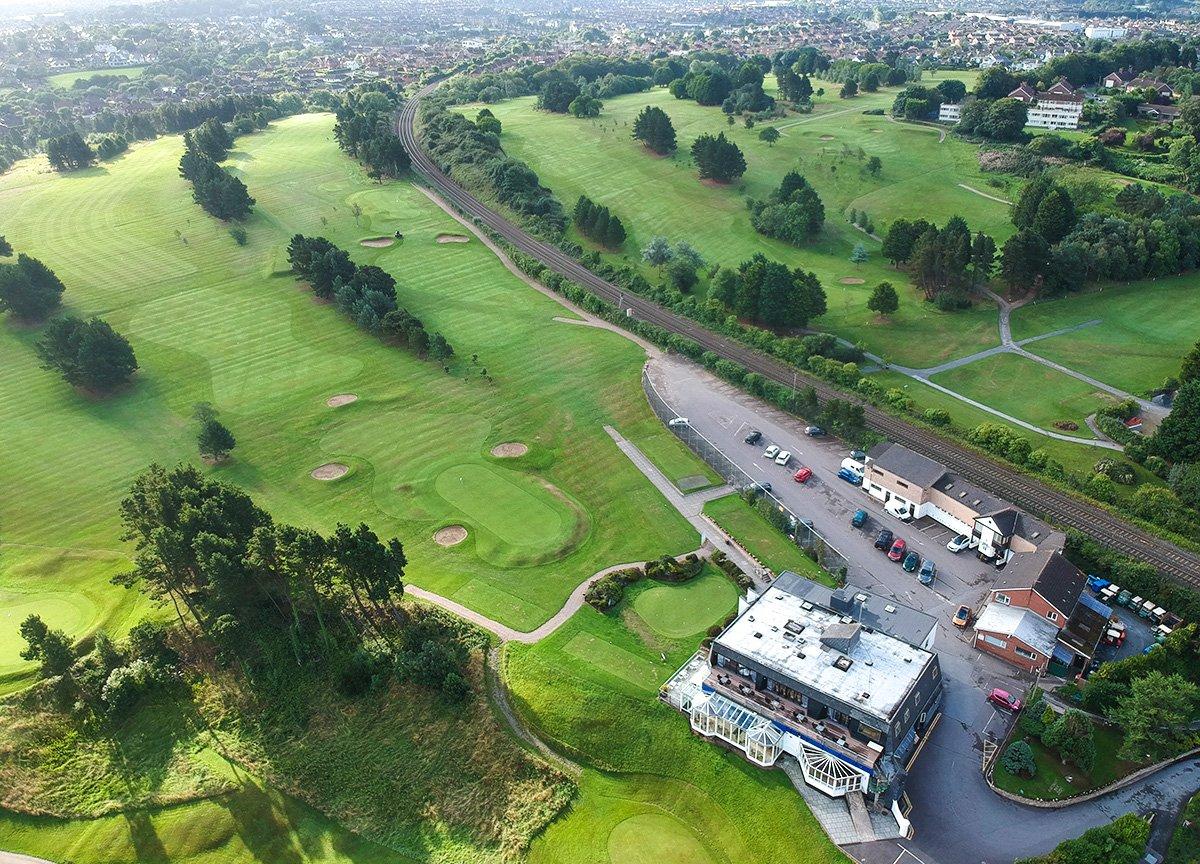 Carnalea Golf Course, North Down Coastal Path. Bangor to Carnalea