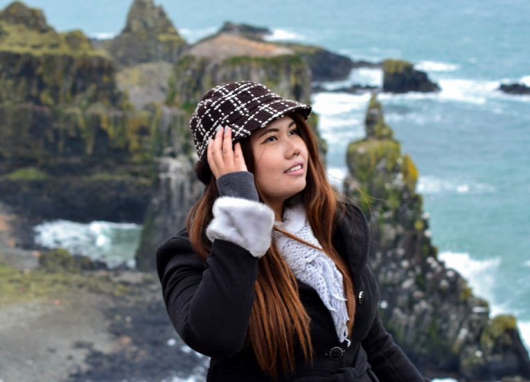 Fanfan Wilson Travel Blogger, Rathlin Island Ferry Day Trip from Ballycastle